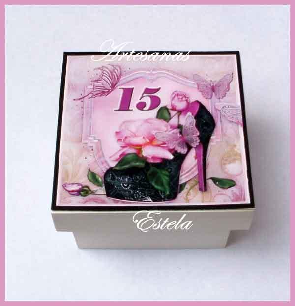 15 Para Porcelana Recuerdos Anos