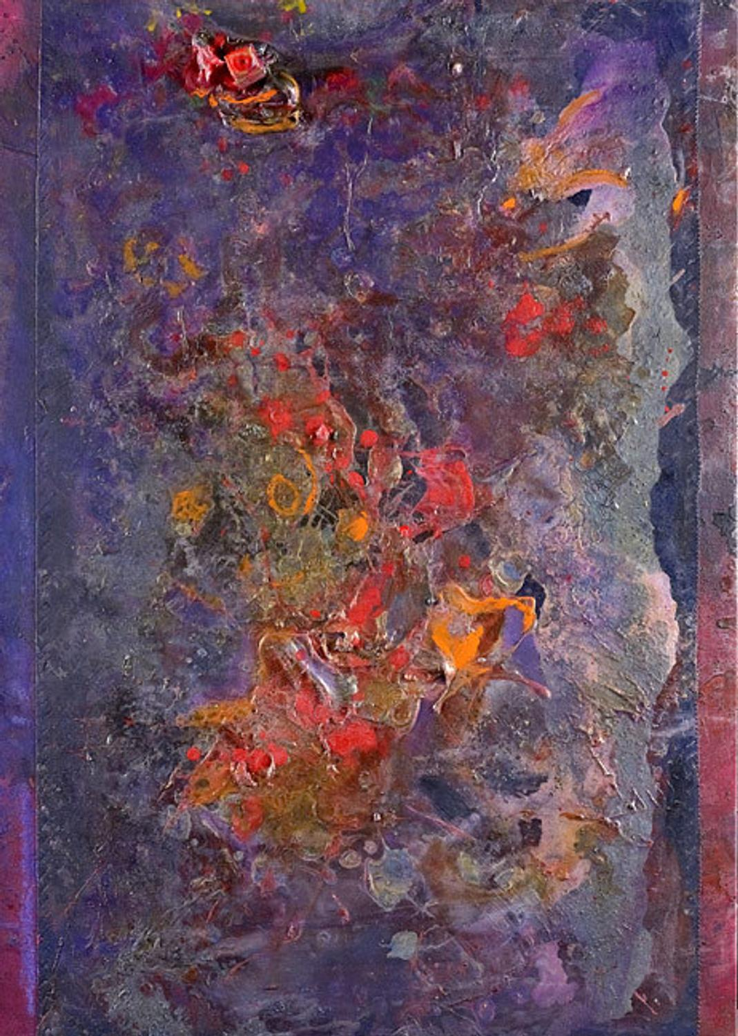 Frank Bowling Recent Paintings Artwire Press Release