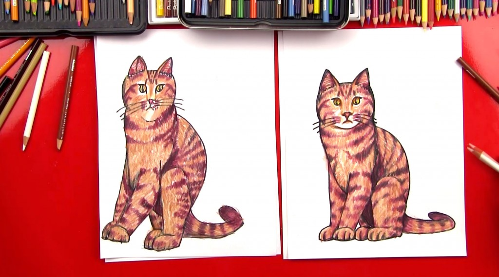 Image of: Sword How To Draw Realistic Cat Art For Kids Hub Cats Archives Art For Kids Hub
