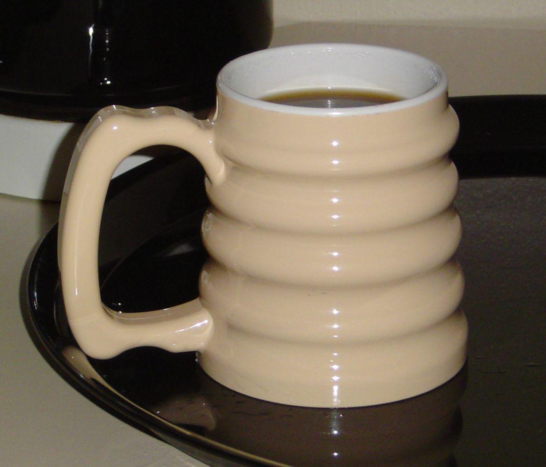 Hand To Hand Mug Easy To Hold Contoured Mug