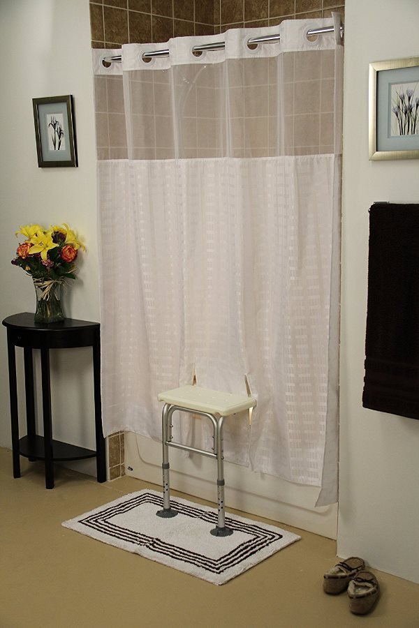 Bench Buddy Adapted Shower Curtain Whitaker For Tub