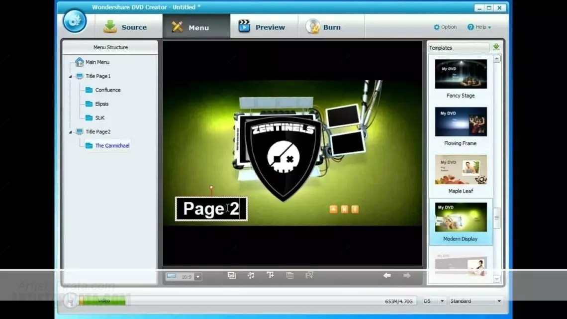 WonderShare DVD Creator MEGA