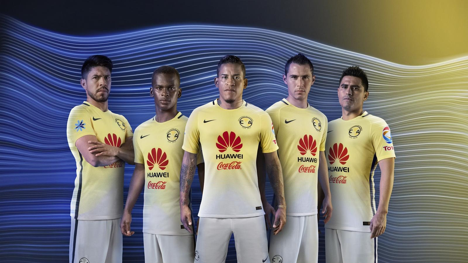 Nike present Mexico s Club America 2016 17 home kit    Arunava about     Nike present Mexico s Club America 2016 17 home kit    Arunava about  Football