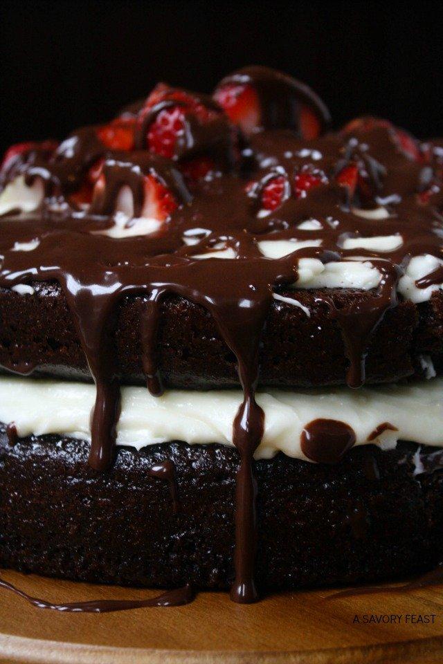 Homemade Chocolate Ice Cream Cake