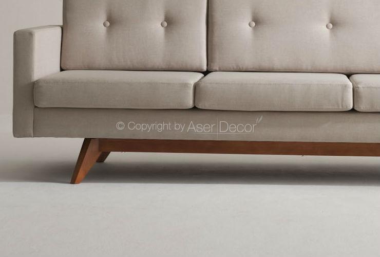 Sofa Chaise Retratil 3 Lugares