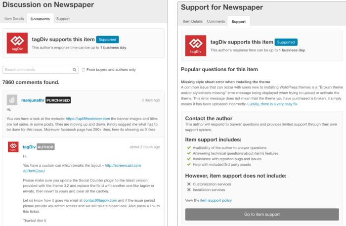 newspaper comment - ทำความรู้จักกับ Themeforest By Wpthaiuser.com