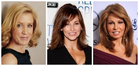 Penteados para cabelos médios para mulheres 50+: Foto