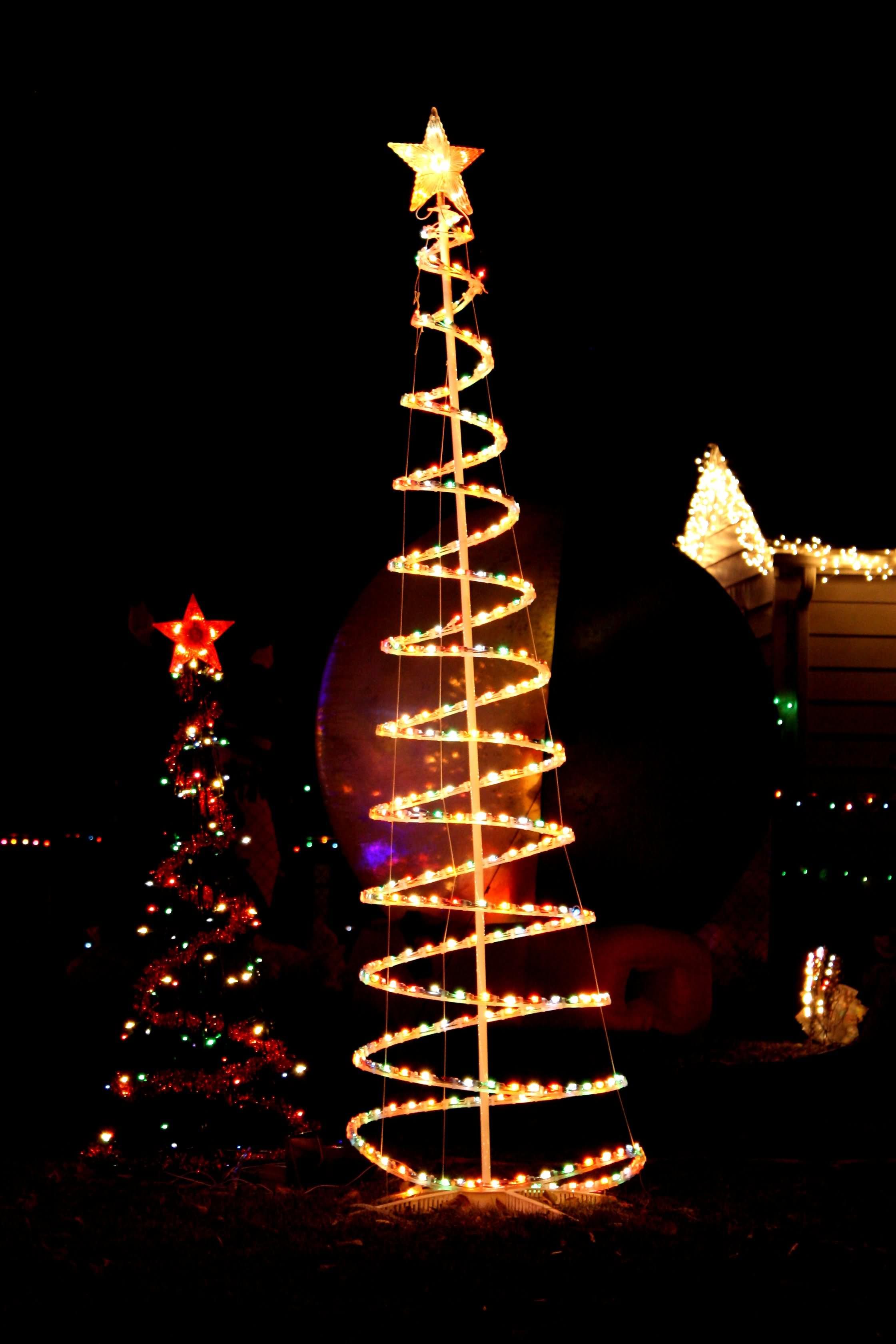Christmas Tree Out Lights