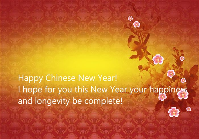 Happy Chinese New Year I Hope For You This New Year Your Happiness     Happy Chinese New Year I Hope For You This New Year Your Happiness And  Longevity Be Complete