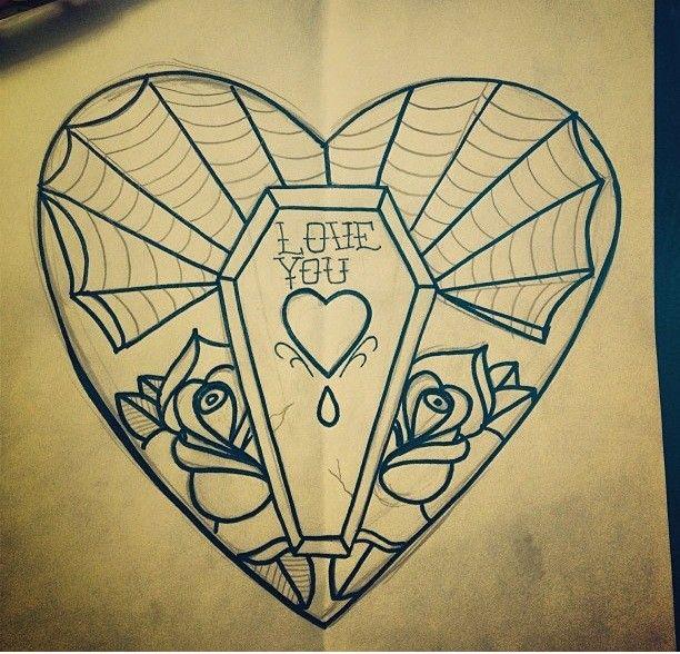 Zombie Tattoo School New Coffin