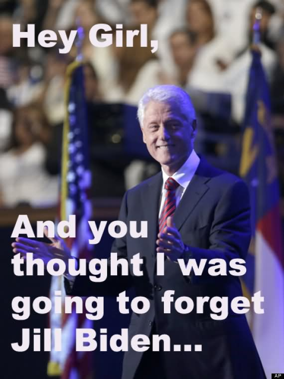 Clinton Hillary Funny About Memes Bill