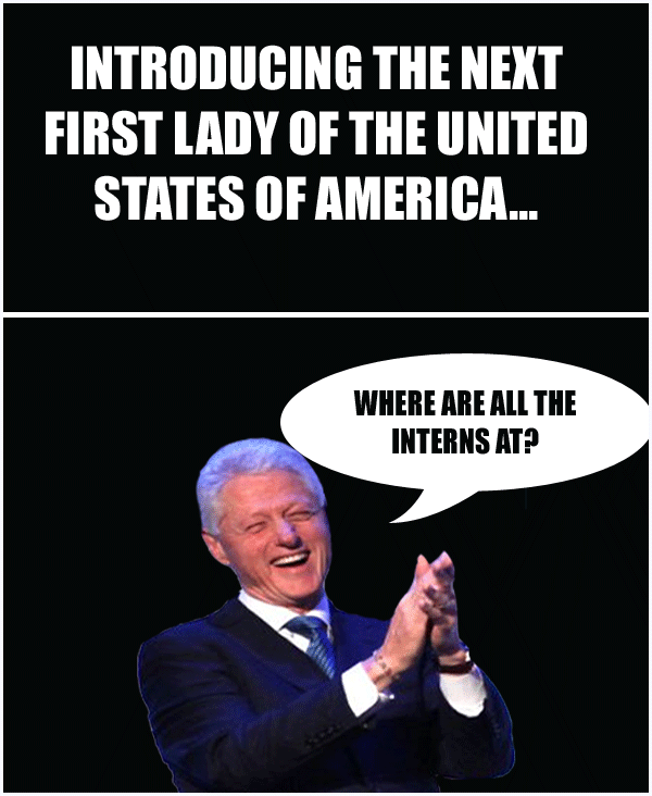 Funny Bill Hillary Clinton Memes About