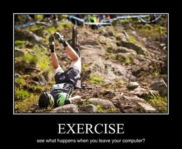 Downhill Mountain Biking Jokes