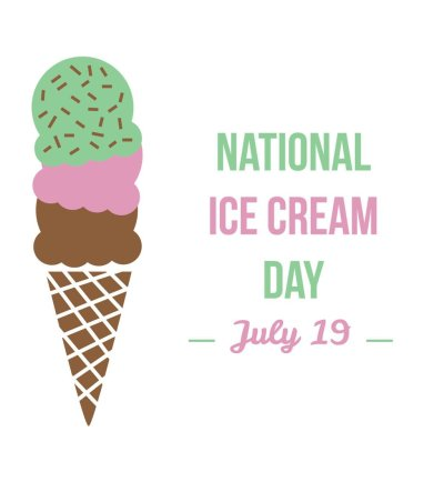 38 Amazing National Ice Cream Day Wish Pictures And Images