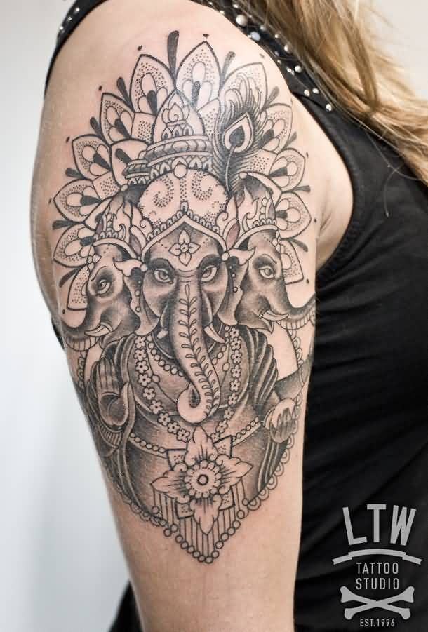 15+ Ganesha Half Sleeve Tattoos
