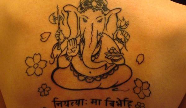 22+ Simple Ganesha Tattoos