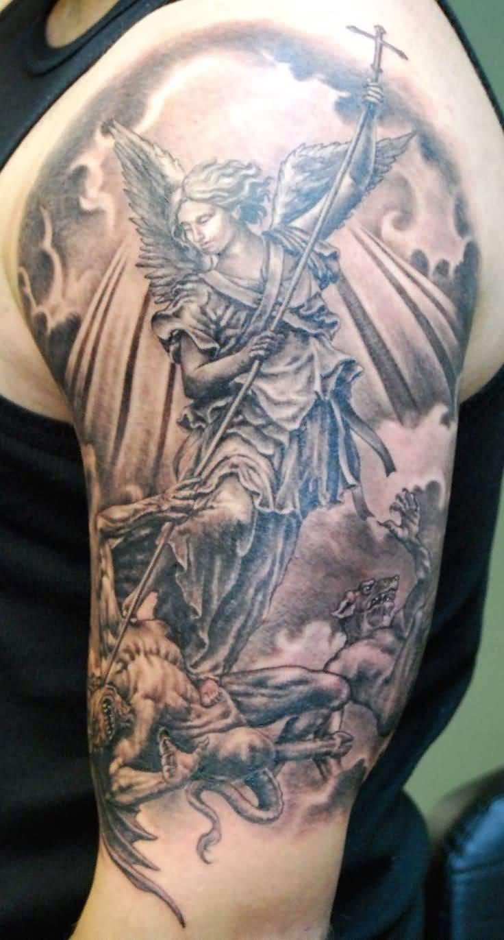 Good Vs Evil Tattoo Ideas
