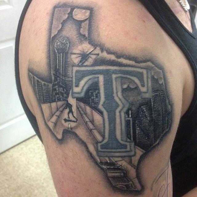 Cowboys Star Tattoos Dallas Ideas