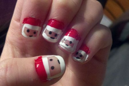 Cute Diy Christmas Nail Designs Nailarts Ideas