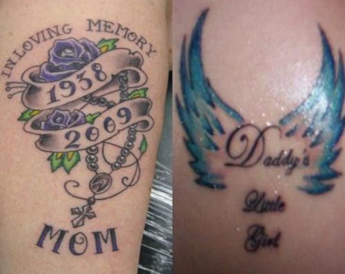 39+ Remembrance Tattoos For Dad
