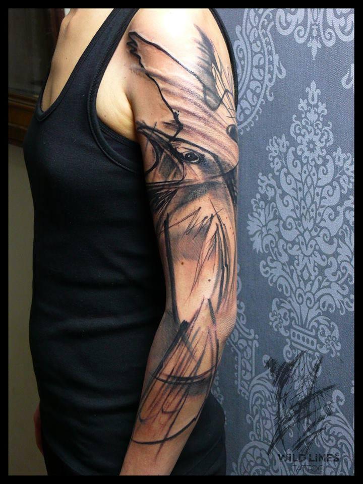 Sleeve Tattoo Abstract