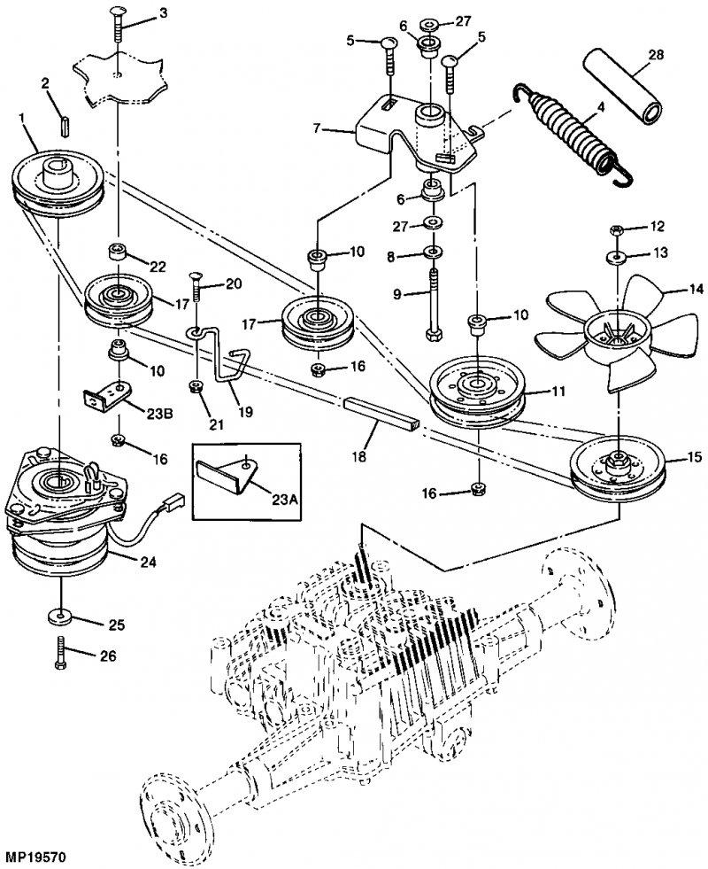 John Deere La145 Wiring Schematic