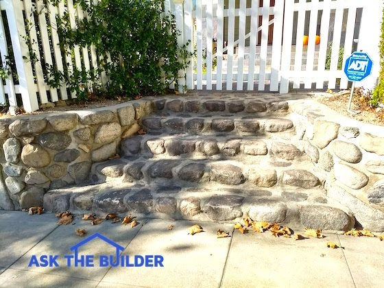 Stone Step Treads | Outdoor Stone Stair Treads | Deck | Curved | Backyard | Unique | Stone Veneer