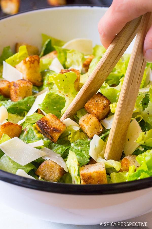 Healthy Caesar Salad Dressing