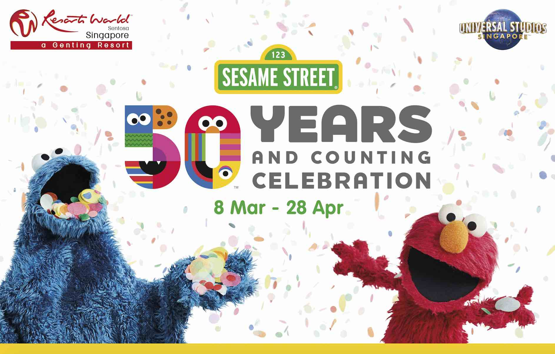 Celebrate Sesame Street 50 Years Amp Counting Universal