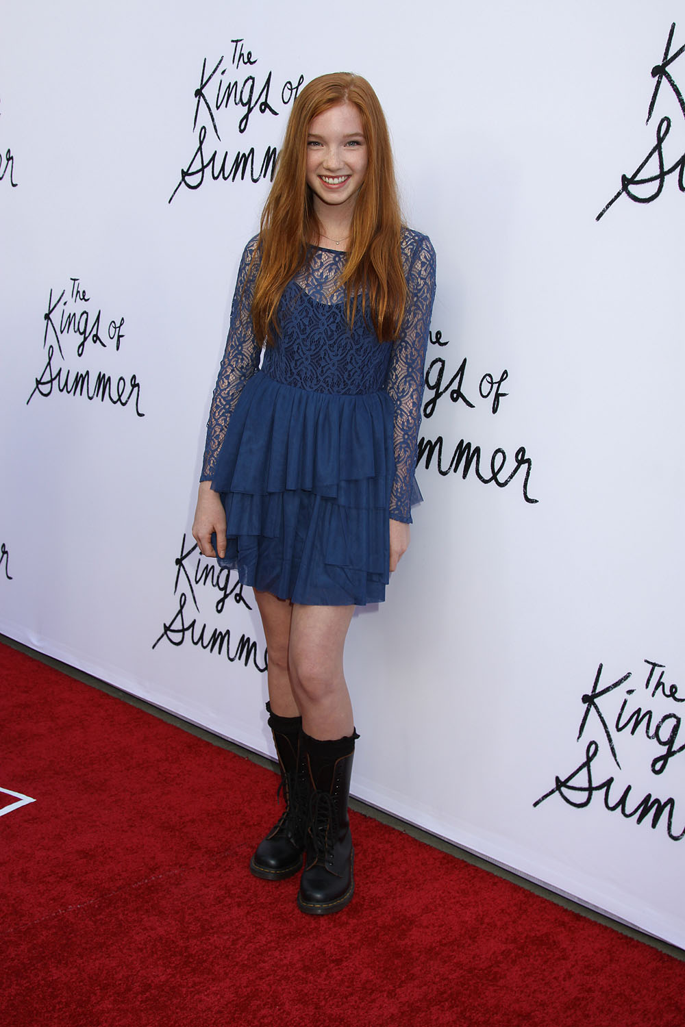 Annalise Basso at the Los Angeles special screening of THE ...
