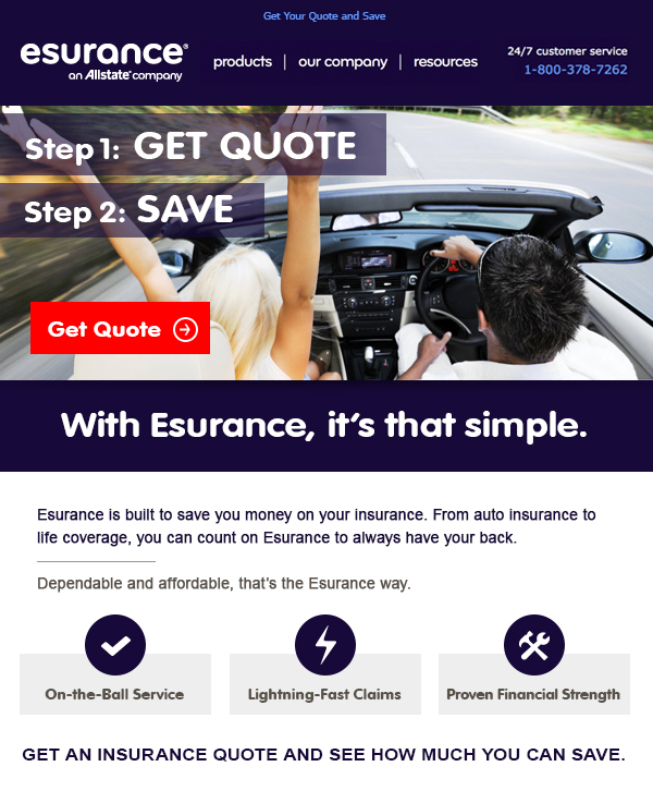 Esurance Quote Mesmerizing Esurance Auto Quote  Quotes Of The Day