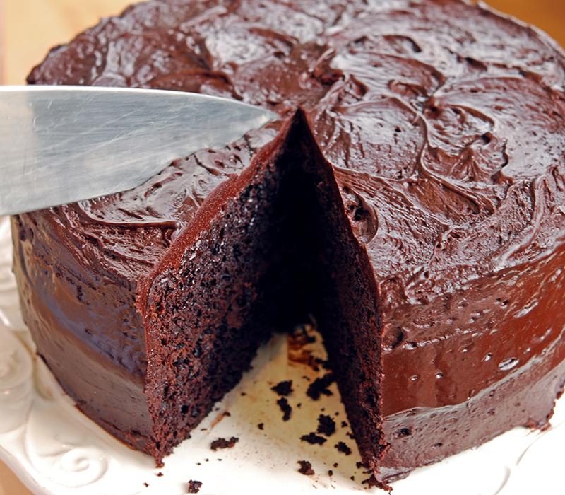 Coffee Dark Cake Chocolate Recipe