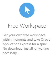 Register Free Oracle Application Express(APEX) Workspace