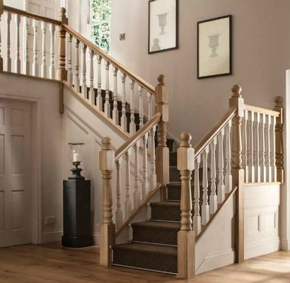 Stair Parts Atlantic Timber | Barley Twist Newel Post | Farmhouse | 18Th Century | Victorian | Twisted | Metal