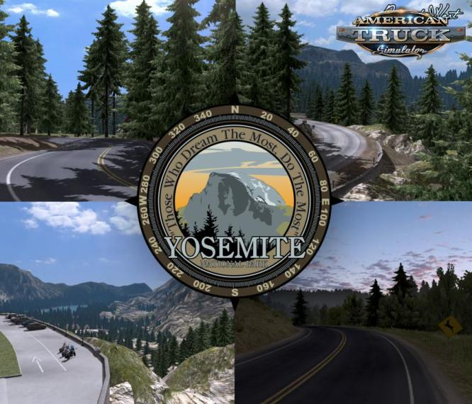 PROJECT WEST MAP MOD V1 3 1 ATS 1 6 X   American Truck Simulator mod     project west map v1 3 1 1 6
