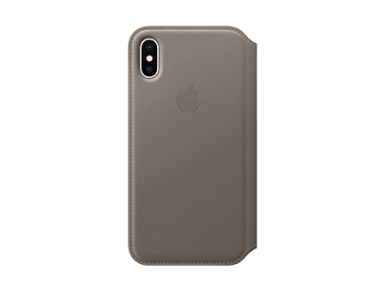 iPhone Accessories for iPhone XS  iPhone XS Max    More   AT T Apple Leather Folio Case   iPhone X