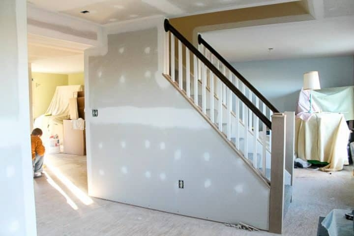 How To Open Up An Interior Staircase A Turtle S Life For Me   Opening Up Staircase To Basement   Kitchen   Basement Remodel   Banister   Stairwell   Man Cave