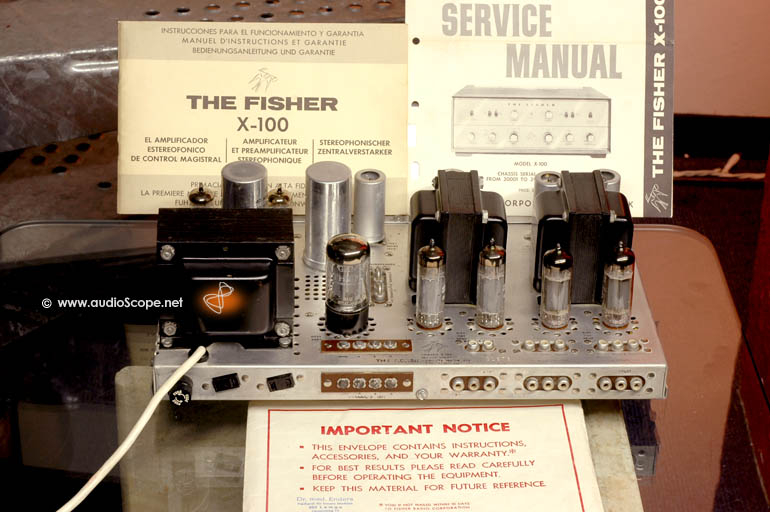Fisher Stereo Parts