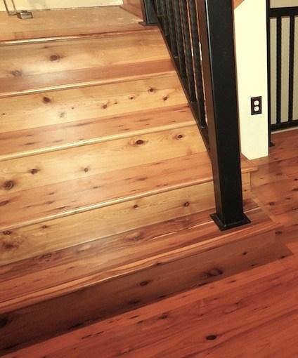 Australian Cypress Stair Treads And Risers Moldings And   Unfinished Stair Treads And Risers   Glue Block   Engineered Hardwood   Remodel   Hardwood   Oak