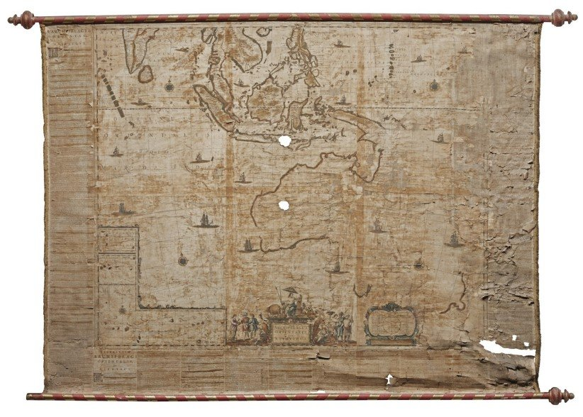 Rare 17th century Australia map up for auction   Australian Geographic