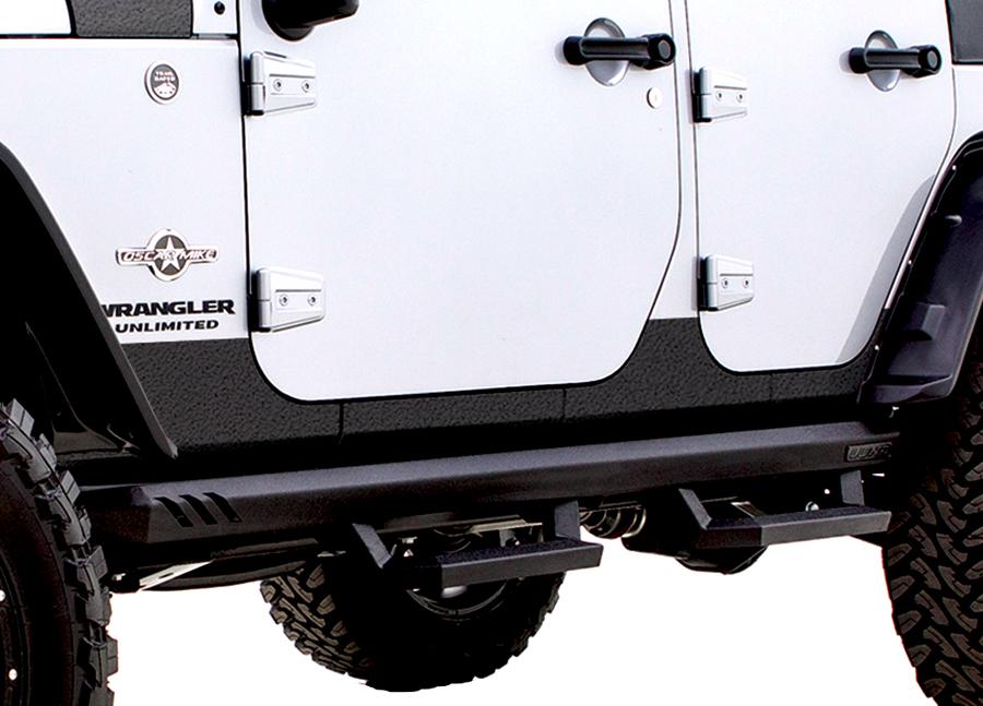 2007 2017 Jeep Wrangler Lund Rhino Lining Rocker Guards