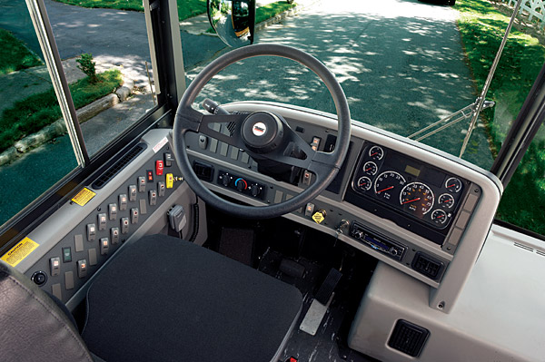 Commercial Bus Paratransit Bus Shuttle Mid Size Bus