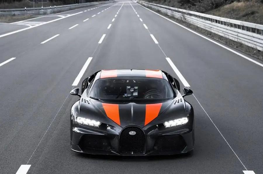 Bugatti Chiron Goes 304mph To Set Hypercar Record Autocar