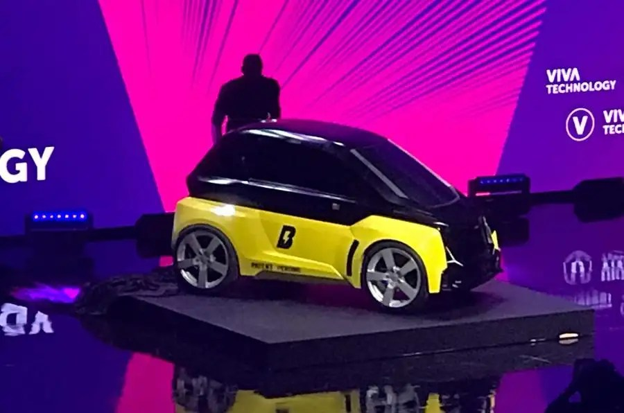 Usain Bolt Backed Firm Reveals Two Seat Electric Bolt Nano