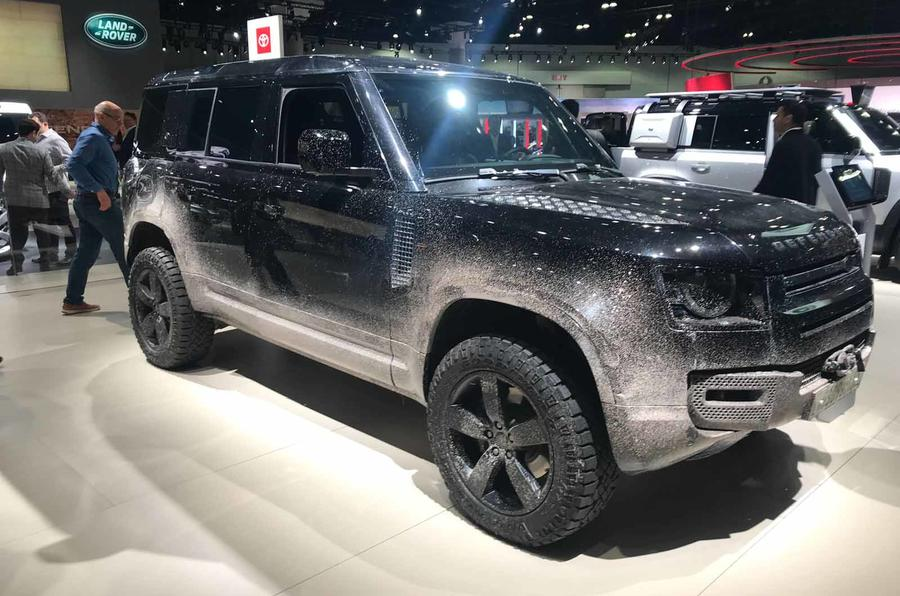 New Land Rover Defender Bond Film Car Shown In La Autocar