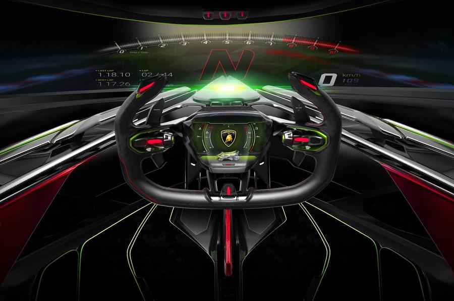 Wild Lamborghini V12 Vision Gt Concept Revealed Autocar