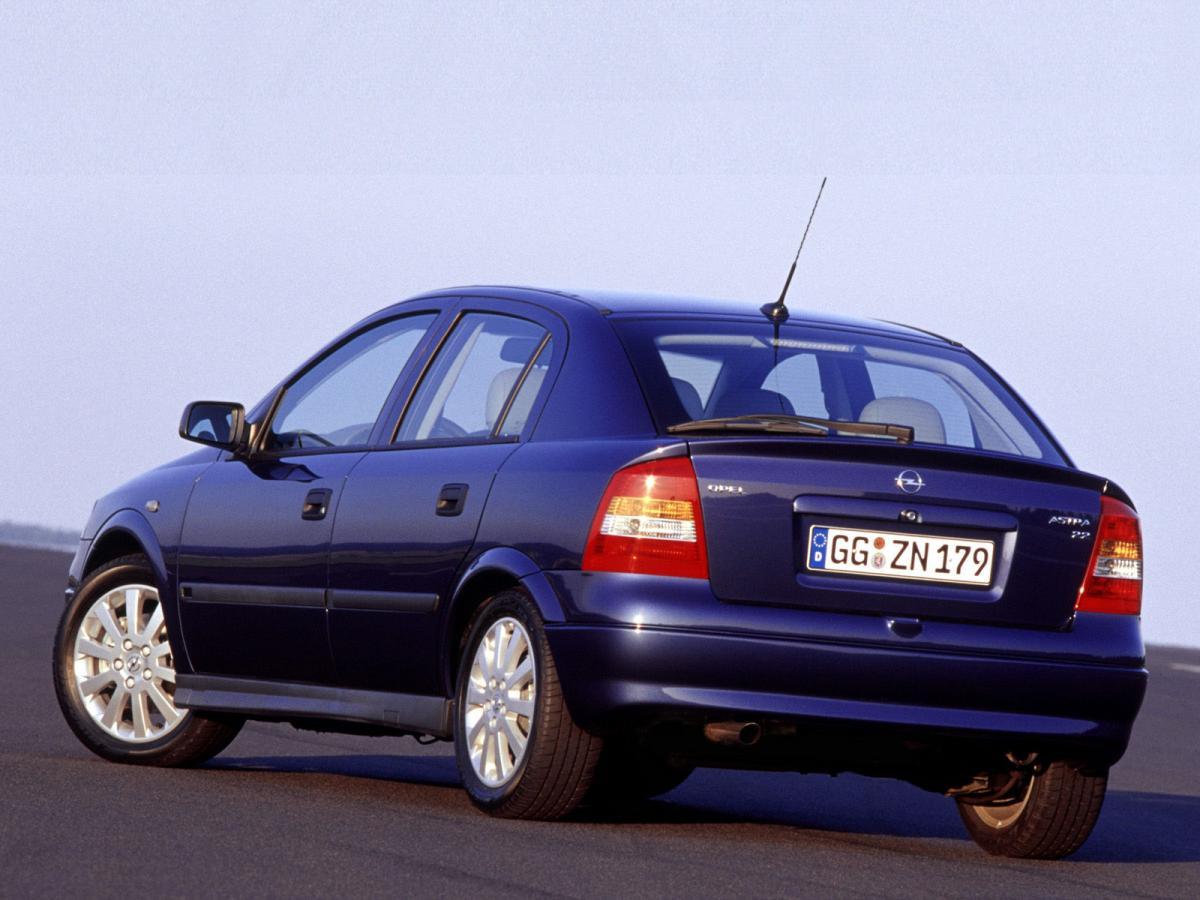 Opel Astra G 1.6 16V (101 Hp)