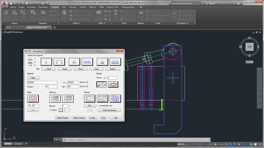 AutoCAD Mechanical Toolset   Mechanical Design Software When you need to capture more complex engineering in a drawing  machinery  generators can expedite