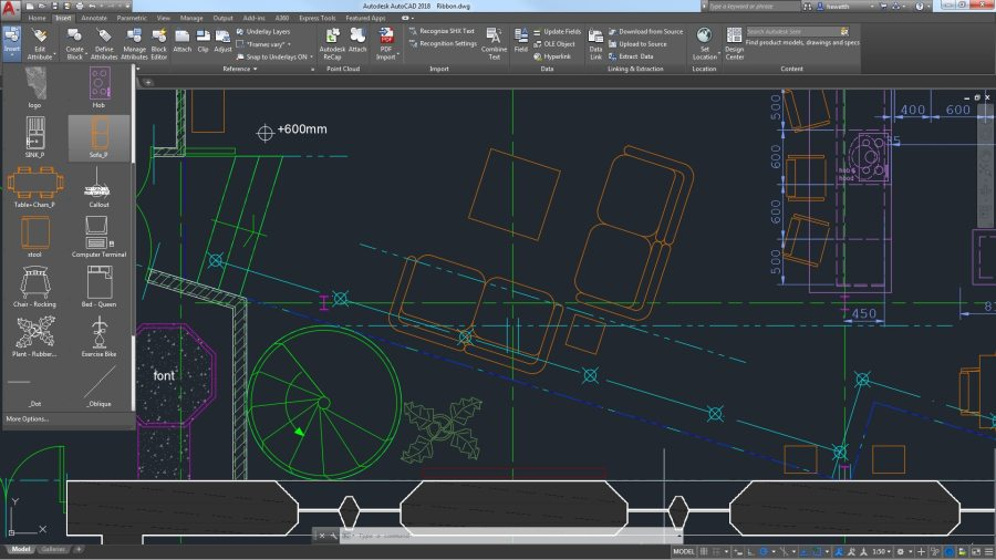 What s New In AutoCAD 2019   Features   Autodesk Access your favorite tools when you need them with the AutoCAD ribbon