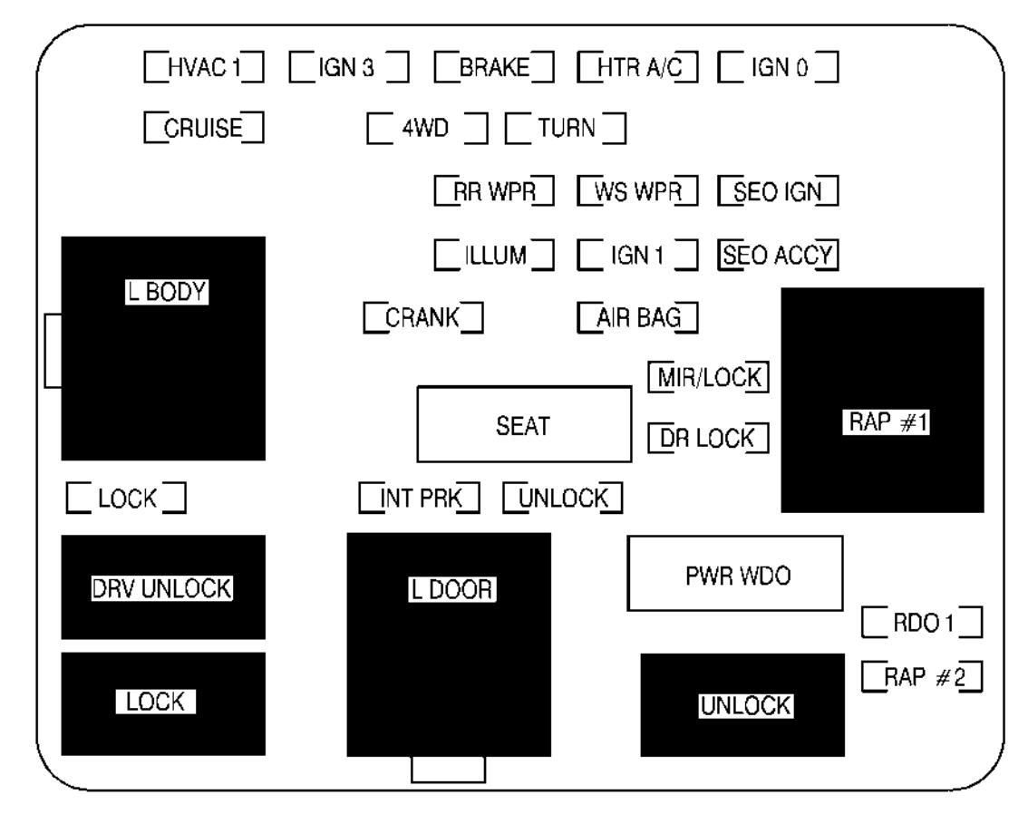 1996 Hyundai Accent Fuse Box Diagram Excel